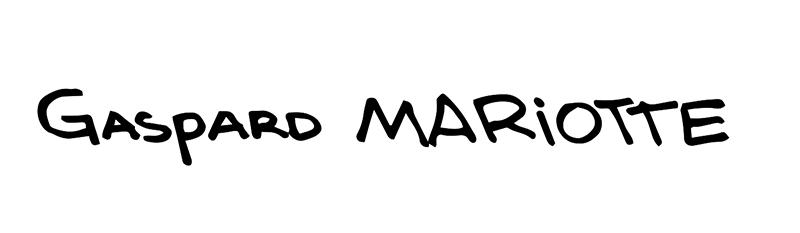 Signature Gaspard Mariotte
