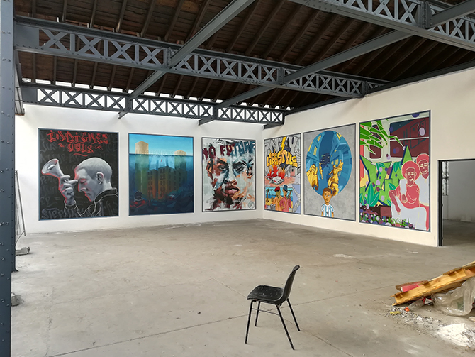 Déterminisme social, peinture extérieure