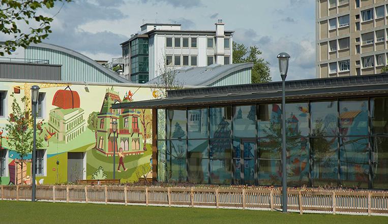 Fresque Parc Zénith Lyon 3, n°3