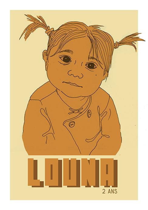 Illustration Louna