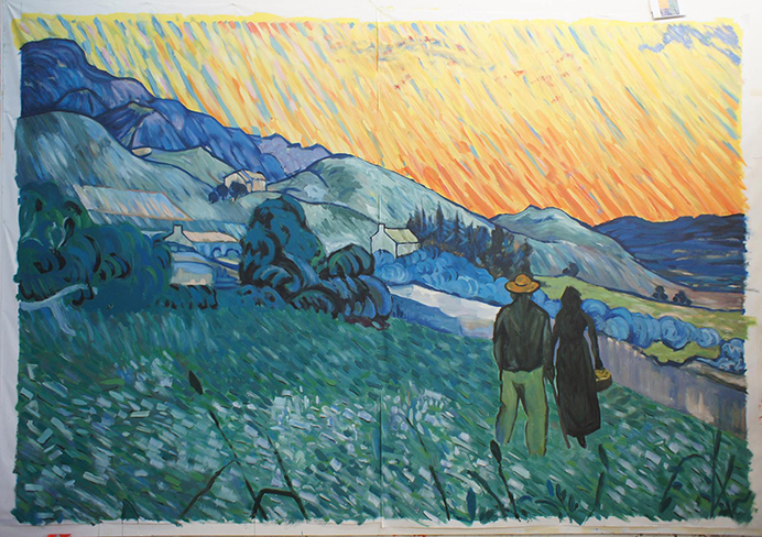 Toile imitation Van Gogh